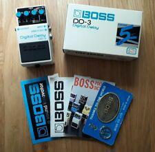 Boss DD3 Japan 1989 Digital Delay effects pedal Vintage MIJ DD2 long chip