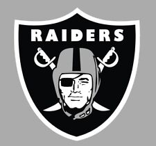 Oakland Raiders 2 PACK NFL Decal Sticker - You Choose Size - FREE SHIPPING