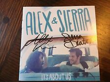 AUTOGRAPHED ALEX AND SIERRA ITS ABOUT US CD Signed