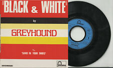 GREYHOUND pic sleeve 45 2 tracks BLACK AND WHITE Sand In Your Shoes France