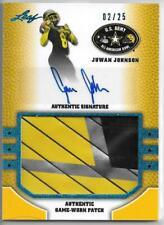 Juwan Johnson 2015 Leaf Metal Rookie Patch Auto 2/25, Penn State/Oregon Ducks