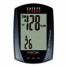 CatEye Strada Digital Wireless Cycling Computer with Heart Rate + Speed - NEW