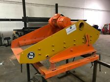 Heavy duty Screener can be used for 100s of types of material Single