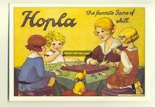 ad1916 - Childrens Game of Hoopla - modern advert postcard