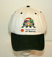 Shell Oil Denver Grand Prix F1 Racing Formula 1 Car White Hat Cap New NOS OSFM