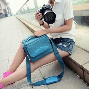 Camera Carrying Shoulder Bag Handbag Case For Nikon Sony Canon Mirrorless Camera