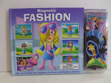 Magnetic Fashion Book for Girls Mix & Match Magnetic Clothing
