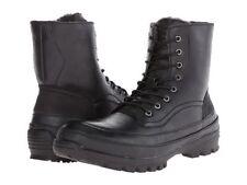 Kenneth Cole Unlisted Men's Imag-Nation Combat Boot Black Size-10 US