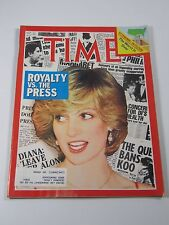 Time Magazine- Royalty Vs. The Press- February 28, 1983