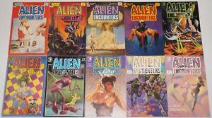 Alien Encounters #1-14 FN/VF complete series - bradbury  john bolton bruce jones