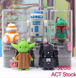 Master Yoda USB Flash Drive Star Wars Cute Giftbox 32GB memory Christmas Present