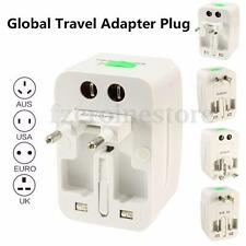 Universal International Travel Plug Adapter World Wide Converter For US UK EU AU