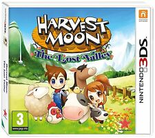 HARVEST MOON THE LOST VALLEY NINTENDO 3DS 2DS BRAND NEW AND SEALED