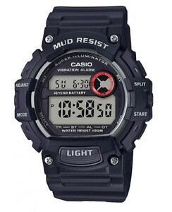 Casio Herrenuhr Armbanduhr TRT-110H Herren Digital Uhr Unisex Damen Schwarz NEU