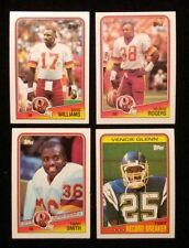 1988 Topps Football Finish Complete your set 20 cards $1.50