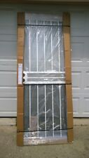 Brand New 32x80 Metal Security Storm Door & Frame + Full Glass + Closer Kit