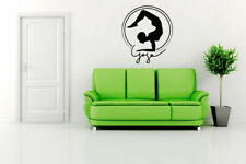 Wall Art Vinyl Sticker Room Decal Mural Decor Yoga Postures Hindu bo439