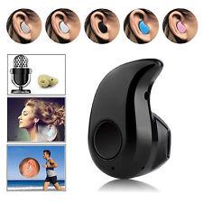 Mini Bluetooth Headset V 4.1 Stereo Kabellos Inear Kopfhörer für Ein Ohr Musik ~