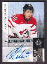 2011-12 Ultimate Collection Signatures #US-BS Brayden Schenn Auto Team Canada