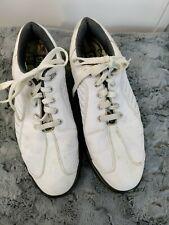 New listing Mens FOOTJOY FJ SPORT White Golf Shoes 53197 Size 9.5 M
