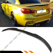 FOR 2014-18 BMW F33 CONVERTIBLE COUPE CARBON FIBER TRUNK SPOILER WING- M4 STYLE