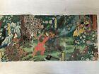 Y3255 WOODBLOCK PRINT Yoshitsuya triptych Kintaro Japan Ukiyoe vintage art