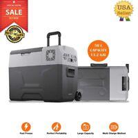 Portable Travel Car Refrigerator Freezer Truck Fridge Camping DC 12V 24V AC USA