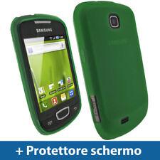 Custodie preformate/Copertine Verde Per Samsung Galaxy S per cellulari e palmari