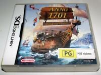 Anno 1701 Dawn of Discovery Nintendo DS 2DS 3DS Game *Complete*