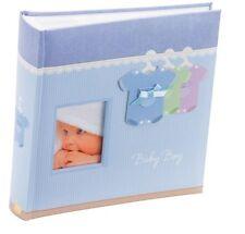 """Kenro Baby Boy vestito PHOTO ALBUM 200 6x4 """" / 10x15cm Blu nuovo nato BABY giftkb102u"""