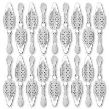 18x Absinth Löffel Losanges 41 - Absinthe Spoon - Cuillère à Absinthe originale