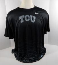 Texas Christian Univeristy TCU Men's Liberity Bowl Black T-Shirt Frog Print 2XL