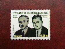 France 4981 ** Sécurité sociale Laroque et Croizat  en 2015
