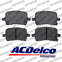 Disc Brake Pad-Ceramic Front ACDelco Advantage 14D1160CH For Chevy HHR Malibu
