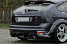 Ford Focus ST Rear Bumper Diffuser middle part Valance Skirt  extension eleron