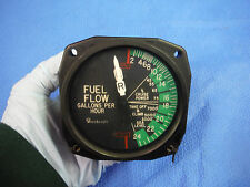 Beech Fuel Flow Indicator P/N 96-380015-5 Alt P/N 22-868-036-A (1015-234)
