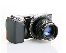 35mm F1.7 Security CCTV C Lens +C-NEX Adapter for Sony NEX-7/6/5R/5N/5C/3/F3