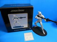 Star Wars 2003 Attack Of The Clones Attakus Clone Trooper Statue ~ #0364/1500