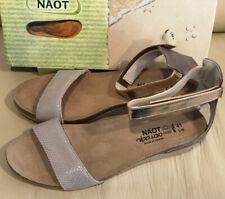 Naot Pixie Women's, Beige Liz Rose Gold- NEW - Choose Size