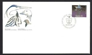 Canada    # 1095   GREAT BLUE HERON         Brand New 1986 Unaddressed Issue