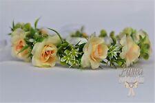 wedding flower crown  First Holy Communion wreath komunia wianek komunijny 39N