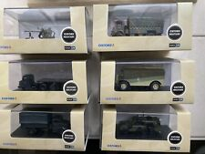 OXFORD 1/76 Set Of 6 Military Vehicles. New Boxed.