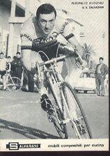 ANTONIO ALBONETTI cyclisme cp carte postale Cycling ciclismo SALVARANI