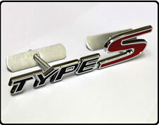Type S Front Grill Badge Emblem Red Black Honda Civic Accord FN2 EP3 EK 42bg