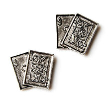Playing Cards Cufflinks - Gifts for Men - Anniversary Gift - Handmade - Gift Box