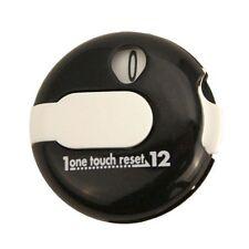 EZ Stroke Score Keeper Strokecounter - Attaches to your golf glove - Black