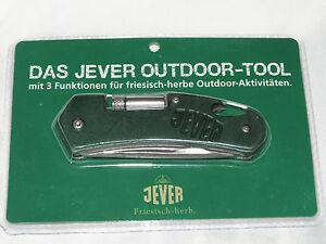 Jever  Messer Outdoor mit Öffner und LED Leuchte  Neu und OVP siehe Foto
