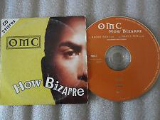 CD-OMC-HOW BIZARRE-RADIO/DANCE MIX-ALAN JANSSON/P.FUEMANA-(CD SINGLE)95-2TRACK