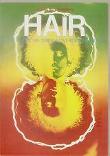 1968. Original HAIR The American Tribal LOVE ROCK MUSICAL Postcard Geary Theatre