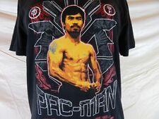 "Manny ""Pac-Man"" Pacquiao Size Small Black Nike Dri Fit T-Shirt"